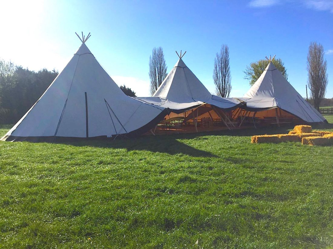Three Tipi Setup