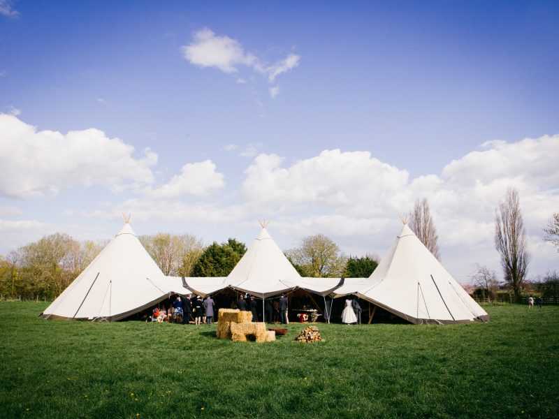 Love Tipis at Surrey Wed Fest