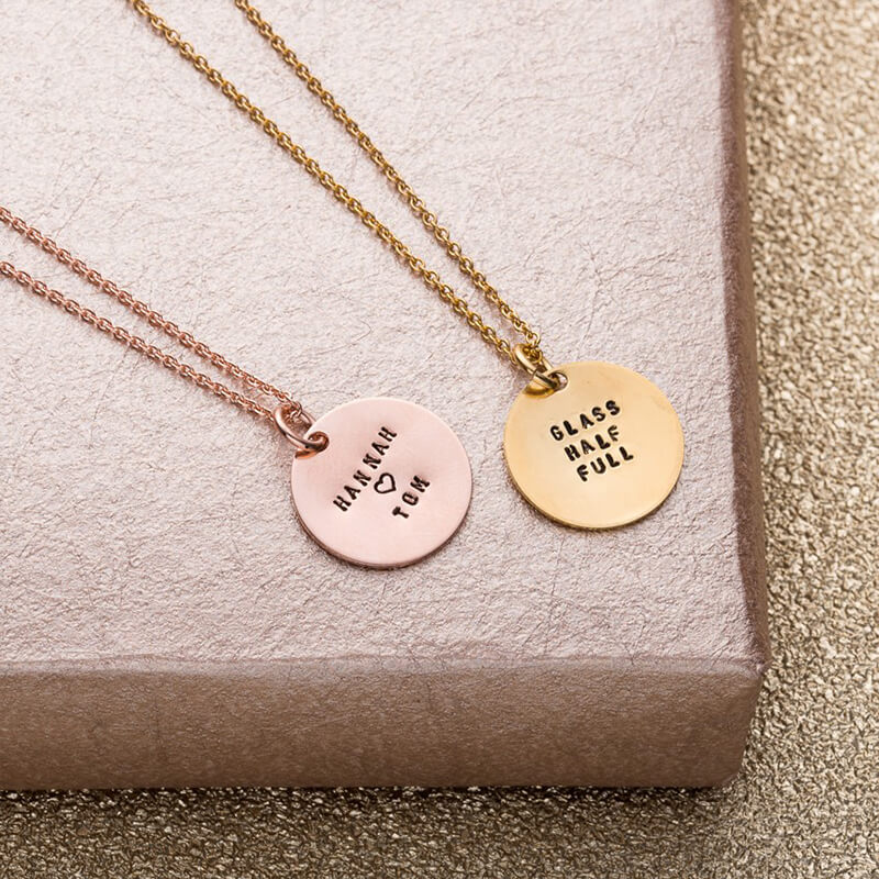 bridesmaids necklace. love tipis