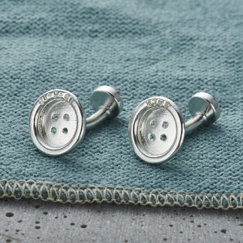 Posh Totty cufflinks. Love Tipis