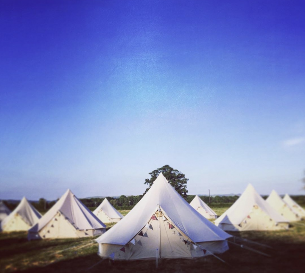 Bumble Bell. Bell Tents. Love Tipis