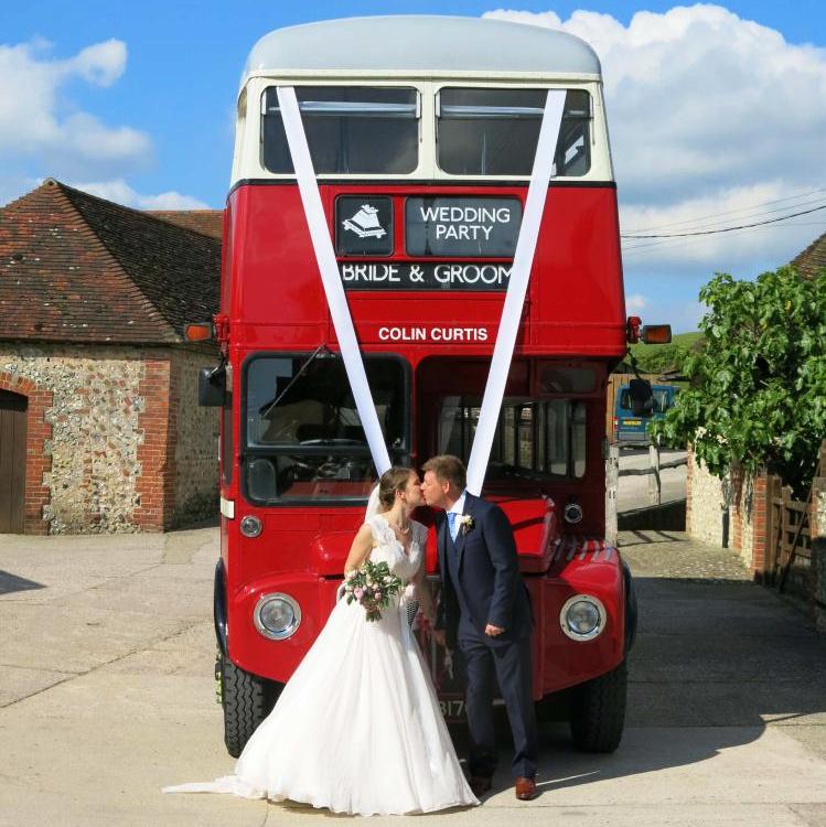 wedding bus love tipis