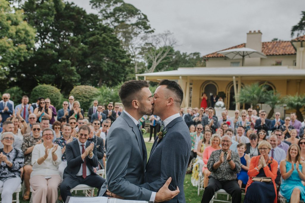gay wedding. love tipis